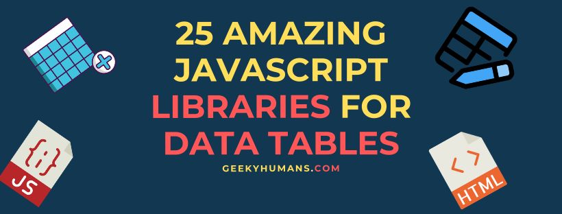 25-JavaScript -Library-For-Tables-That-You-Should-Use