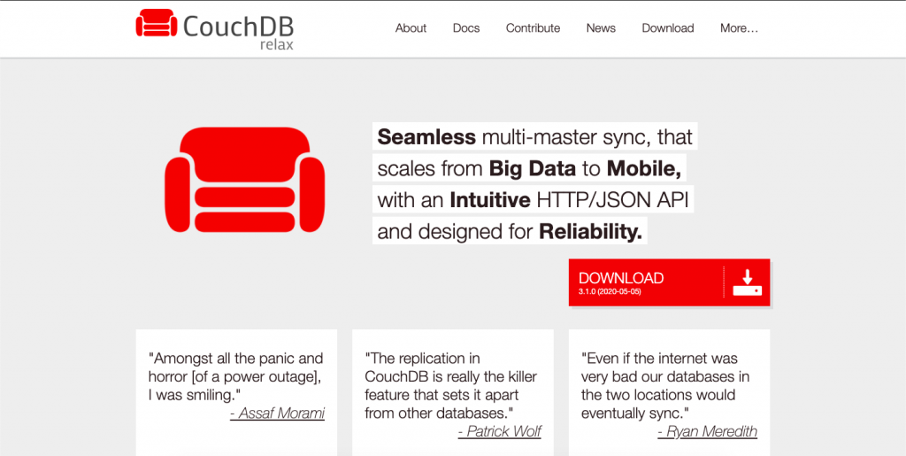 couch-db-big-data-tools
