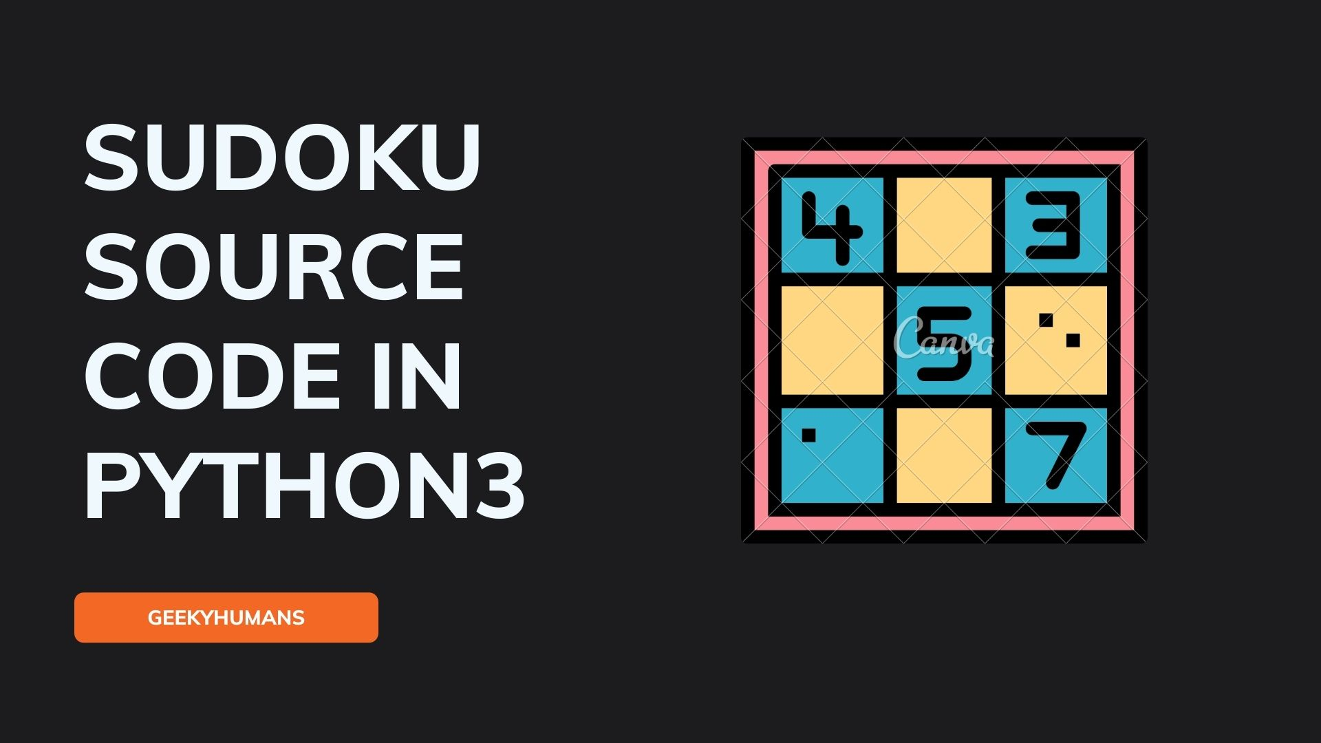 Sudoku-Game-in-Python-Source-Code